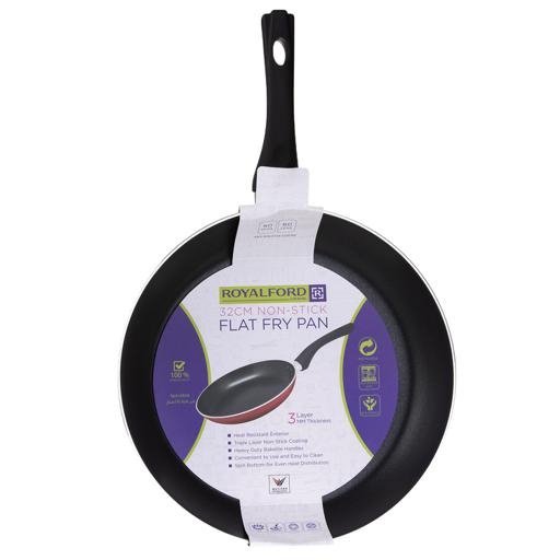 display image 10 for product Royalford Frying Pan, 32 Cm- Aluminum Non-Stick Fry Pan