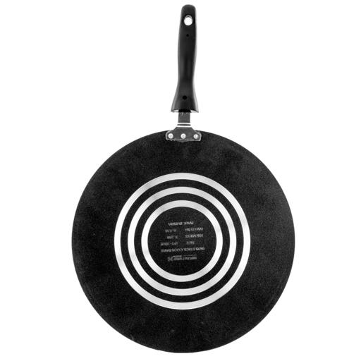 display image 4 for product Royalford Non-Stick Tawa - Multi-Functional Aluminum Pan Suitable For Crepe Chapatti Pancakes Roti