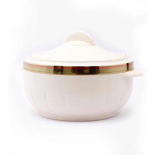 display image 3 for product Royalford 3500 Ml Litre Classic Casserole - Thermal Casserole Dish - Double Wall Insulated Serving