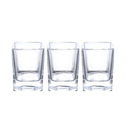 display image 0 for product Royalford Rock Glass Set, 3 Pcs