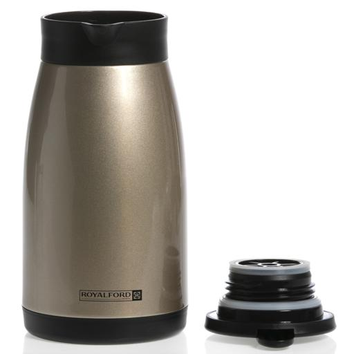 display image 6 for product Royalford 1L Insulated Vacuum Thermal Flask - Portable Double Walled Stainless Steel Vacuum