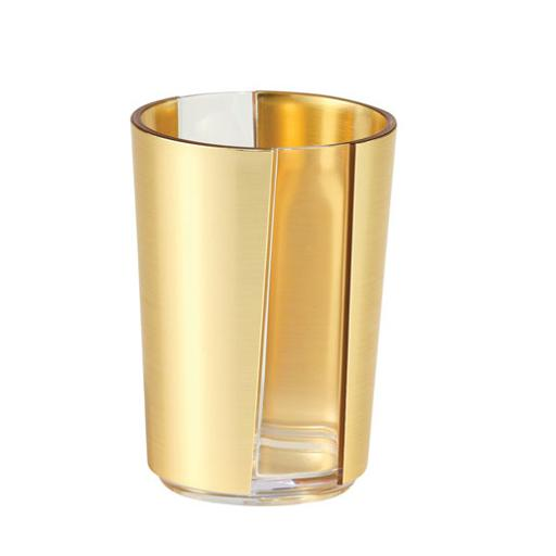 display image 10 for product Royalford 410Ml Gold Acrylic Glass - Portable Lightweight With Broad Mouth & Easy Handling Water Cup