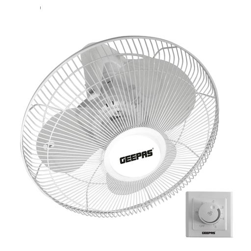 "Geepas 16"" Orbit Ceiling Fan 60W - Quiet Operation, Speed Controller With 3 Leaf Abs Blades hero image"