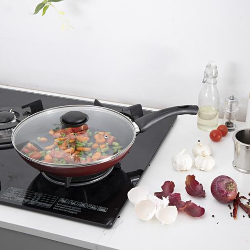 display image 2 for product Royalford Frying Pan, 28 Cm- Aluminum Non-Stick Fry Pan
