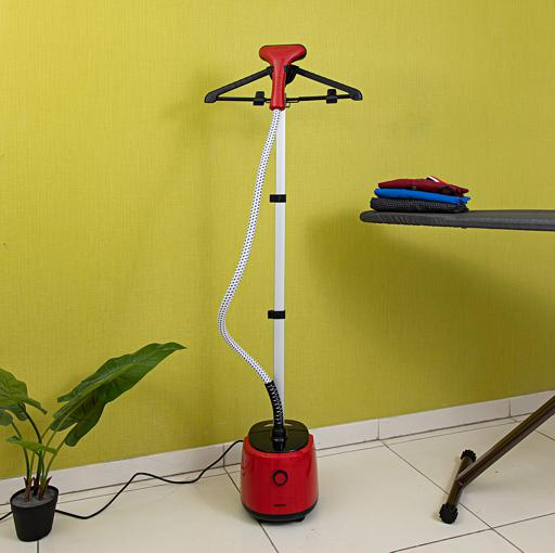 Geepas 1800W Garment Steamer - Adjustable Telescopic Poles, 2 Steam Levels, Overheat & Thermostat hero image