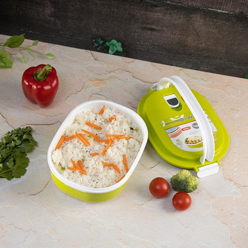 display image 2 for product Royalford 1050Ml Lunch Box - Leak Proof & Airtight Lid Rectangular Food Storage Container