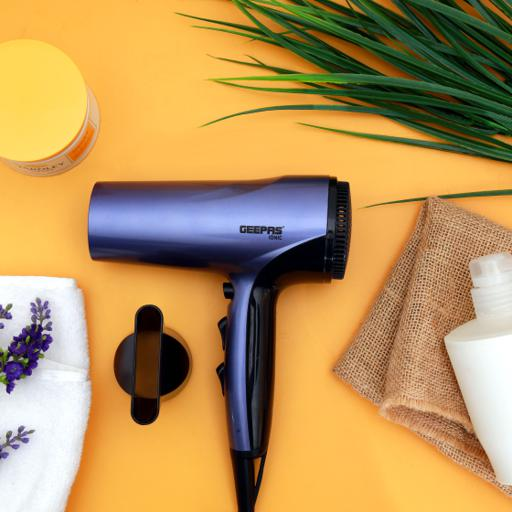 Geepas Hair Dryer 1800W - Portable Ionic Fast Drying Blow Dryer hero image