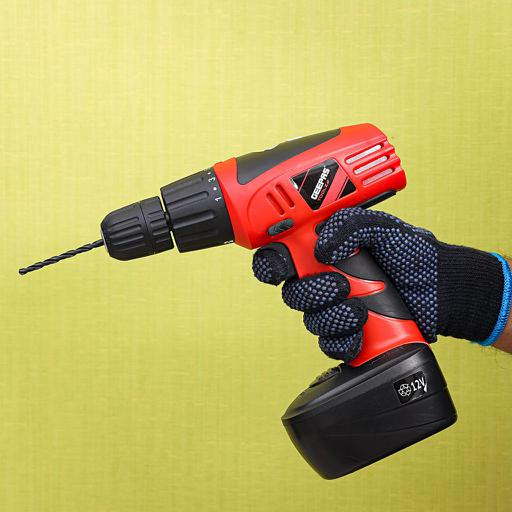 Geepas 12V Cordless Percussion Drill - Hammer Function, Screwdriver with 13 Pcs Drill, 15+1 Torque Setting | No Speed Load 0-550RPM | 1 Year Warranty hero image