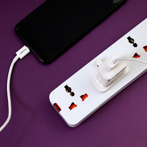 Geepas 3 Way Extension Socket – 3 Switch with Led Indicators | Child Safe, Extra Long Cord with Over Current Protected | Ideal for All Electronic Devices hero image