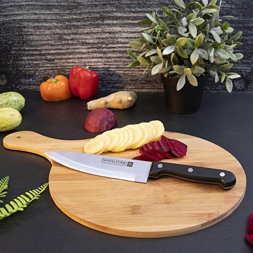 display image 0 for product Royalford Utility Knife - All Purpose Small Kitchen Knife - Ultra Sharp Stainless Steel Blade, 7 Inch