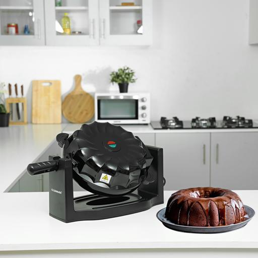 Olsenmark Electric Cake Maker With Non Stick Cooking Plate, 11 Inch - Bundt Cake Design hero image
