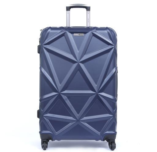 PARA JOHN Matrix Luggage Trolley, Navy 20 Inch hero image