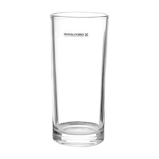 display image 6 for product Royalford 11Oz 3Pcs Glass - Water Cup Drinking Glass