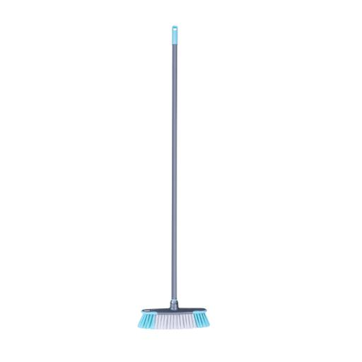 display image 6 for product Royalford Long Floor Broom With Strong Iron Handle - Upright Long Handle Broom With Stiff Bristles