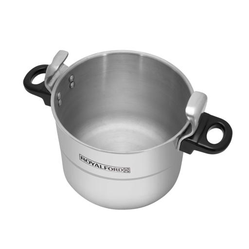 display image 7 for product Royalford 5L Aluminium Pressure Cooker - Lightweight & Durable Home Kitchen Pressure Cooker With Lid