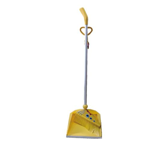 display image 5 for product Royalford Plastic Broom With Dustpan Set - Hand Broom With Durable Bristles - Broom Set