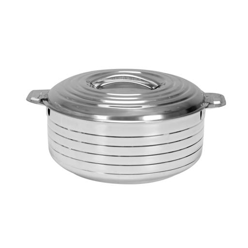 display image 5 for product Royalford 3Pcs Stalla Max Stainless Steel - Double Wall Hot Pot