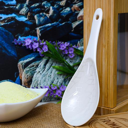 display image 3 for product Royalford Melamine Ware Rice Spoon - Cooking And Serving Spoon With Grip Handle & Hanging Loop