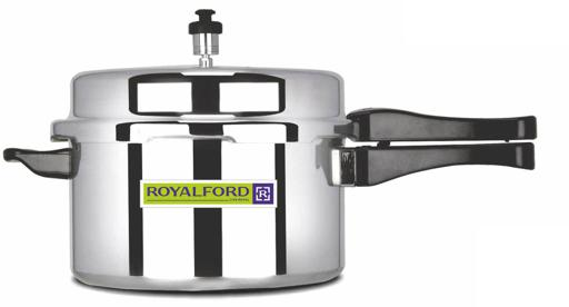 display image 2 for product Royalford 7.5L Aluminum Pressure Cooker - Comfortable Handle Evenly Heating Cooker