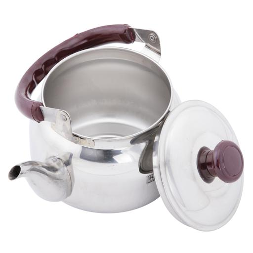 display image 7 for product Royalford 0.75 Litre Stainless Steel Tea Kettle - Portable Lightweight Coffee, Tea Kettle With Lid