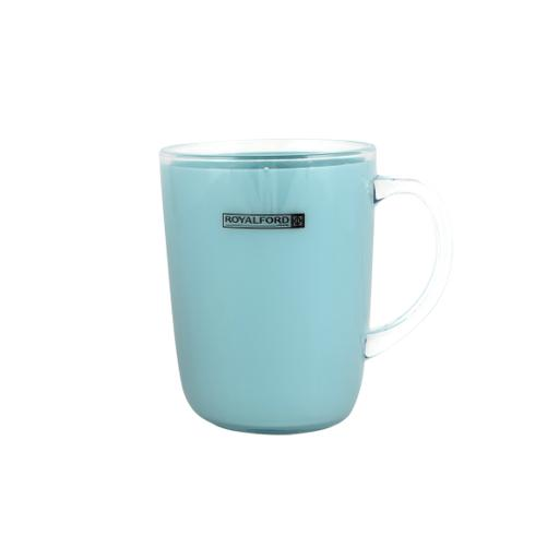 display image 4 for product Royalford Acrylic Water Cup With Handle - Large Coffee Mug, Durable, Safe & Lightweight Acrylic