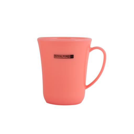 display image 4 for product Royalford 300Ml Acrylic Water Cup With Handle (Green) - Large Coffee Mug, Floral Design, Durable