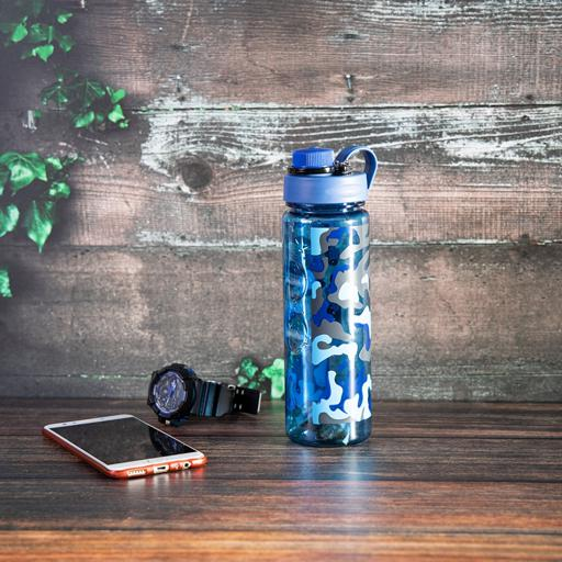 display image 4 for product Royalford 600Ml Water Bottle - Reusable Water Bottle Wide Mouth With Hanging Clip