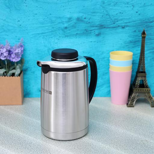 display image 2 for product Royalford Steel Vacuum Flask, 1L
