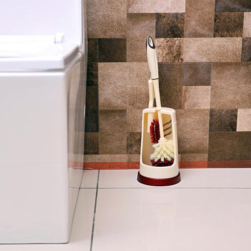 display image 1 for product Royalford Toilet Brush With Holder