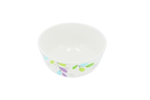 "display image 3 for product Royalford 4.1"" Melamine Round Bowl - Portable, Lightweight Bowl Breakfast Cereal Dessert Serving Bowl"