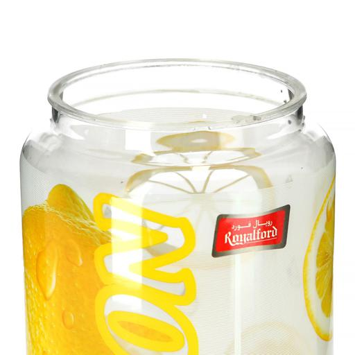 display image 5 for product Royalford Big Canister With Lid - Portable Lightweight Transparent Moisture Proof Storage
