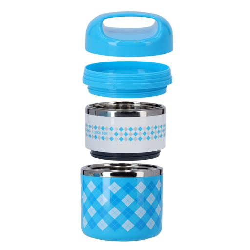 display image 8 for product Royalford S 930Ml Double Layer Lunch Box - Leak-Proof & Airtight Lid Food Storage Container