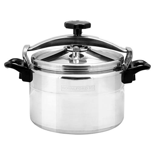 display image 6 for product Royalford 3L Aluminium Pressure Cooker - Lightweight & Home Kitchen Pressure Cooker With Lid