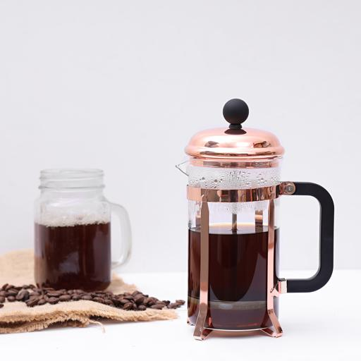 display image 0 for product Royalford Rose Gold French Press 350 Ml
