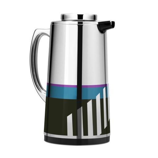 display image 7 for product Royalford 1.3L Silver Vacuum Flask - Stainless Steel Keeping Hot/Cold Long Hour Heat/Cold Retention