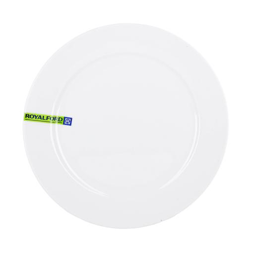 display image 4 for product Royalford Porcelain Magnesia Flat Plate, 8 Inch