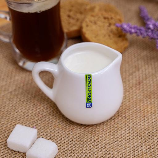 display image 3 for product Royalford Porcelain Magnesia Milk Pot, 80Ml