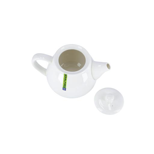 display image 6 for product Royalford Porcelain Magnesia Tea Pot With Lid, 3.5 Inch