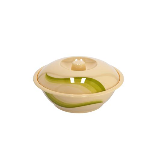 """display image 10 for product Royalford 9"""" Melamine Ware Super Rays Bowl With Lid - Portable, Lightweight Bowl Breakfast Cereal"""