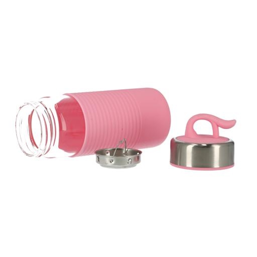 display image 6 for product Royalford Silicon Sleeve Water Bottle, 400Ml