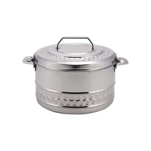 display image 3 for product Royalford 3L Stainless Steel Esteelo Hot Pot - Double Wall Hot Pot