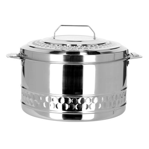 display image 7 for product Royalford 4L Stainless Steel Esteelo Hot Pot - Double Wall Hot Pot