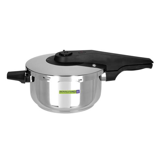 display image 8 for product Royalford Asan Induction Pressure Cooker, 4L