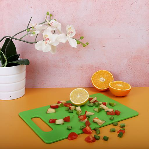 display image 2 for product Royalford Chopping Board - Cutting Board With Non-Slip Base- Perfect For Fruits & Vegetables